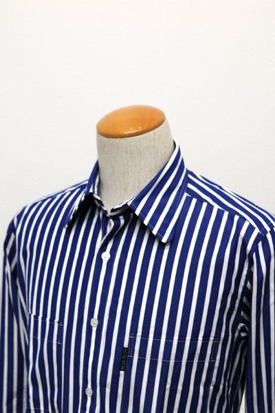 8807d792207dc BLUE BLUE(ブルーブルー)より、ブロード ストライプ ドレス シャツ が入荷しました。高密度のストライプブロード生地を使用しています。衿裏には カラーキーパーが装備 ...